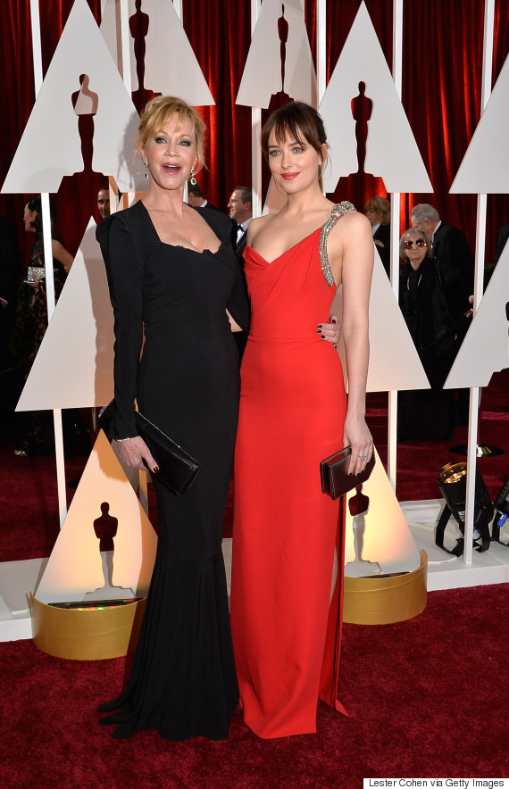 dakota johnson melanie griffith