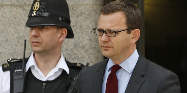 Andy Coulson, former News of the World editor and the former spin doctor of British Prime Minister David Cameron