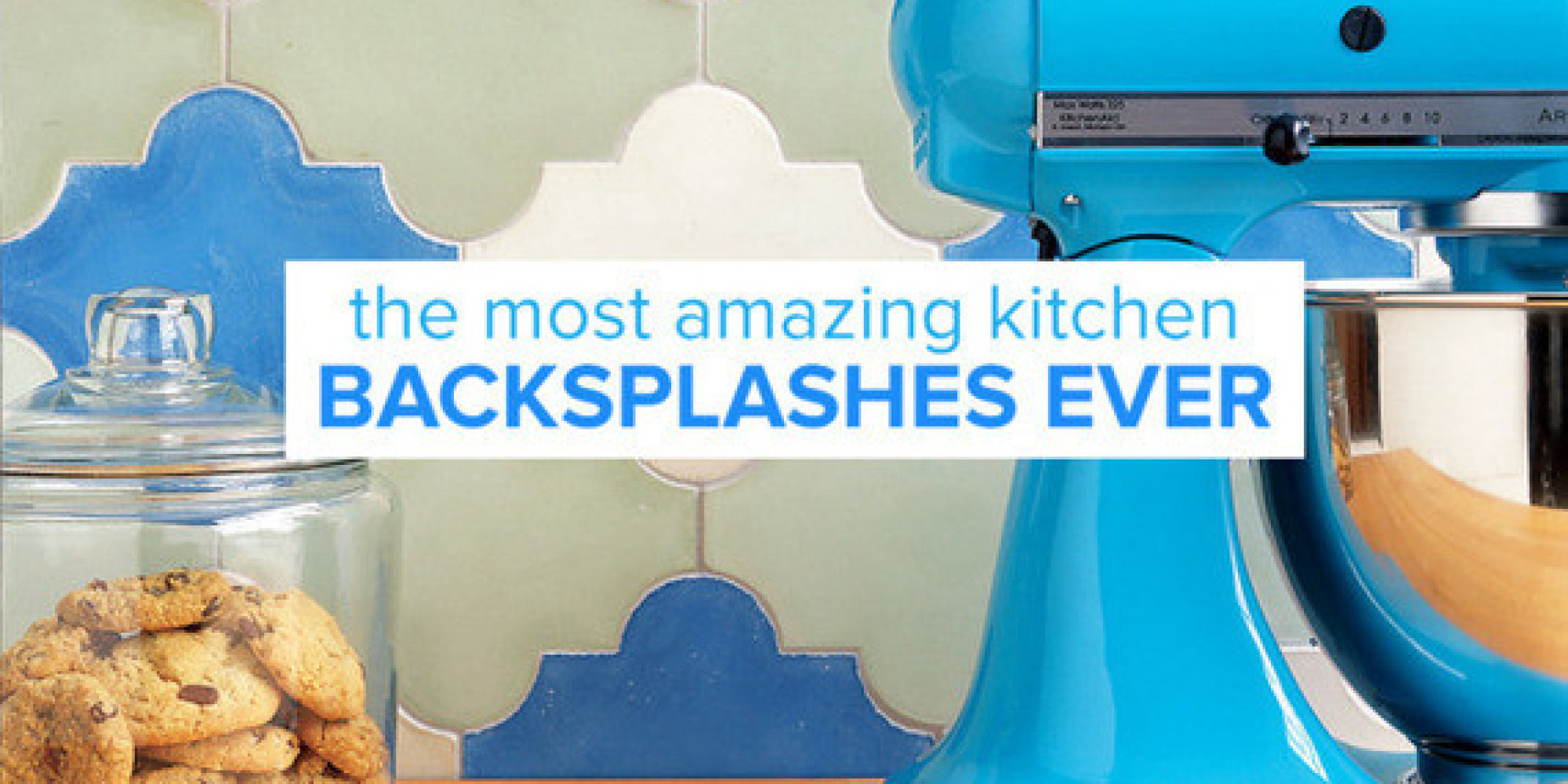 10 Must-See Kitchen Backsplashes | HuffPost