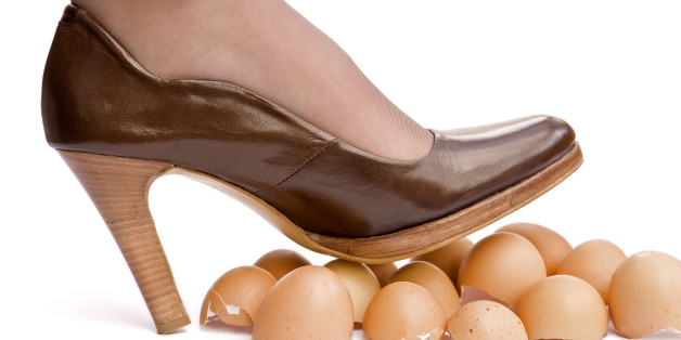 Image result for You've been walking on eggshells so much,