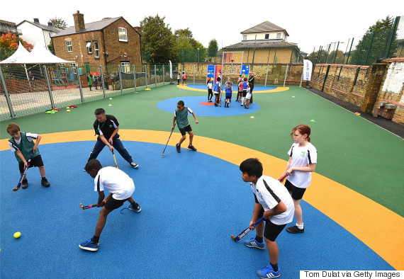 school playground uk