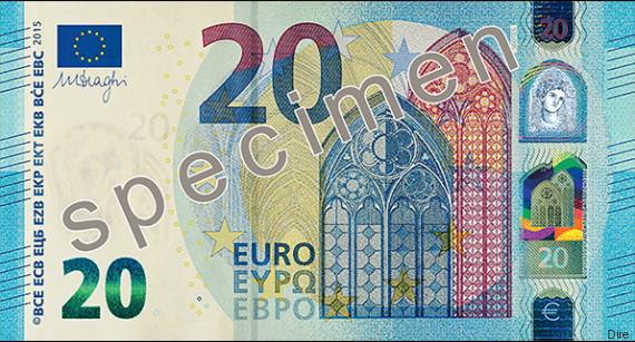 banconota 20 euro