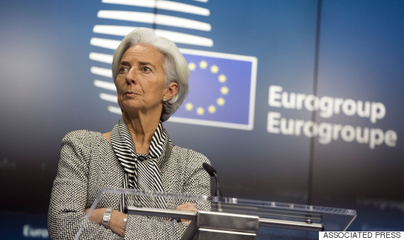 christine lagarde greece