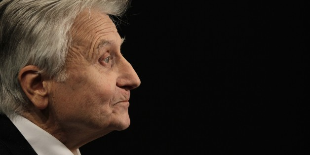 Former president of the European Central Bank (ECB) Jean-Claude Trichet poses while taking part in the 'Positive Economy Forum' on September 24, 2014 in Le Havre, western France. AFP PHOTO / CHARLY TRIBALLEAU        (Photo credit should read CHARLY TRIBALLEAU/AFP/Getty Images)