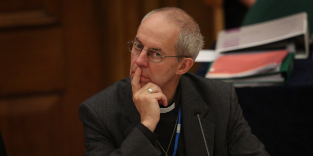 "Archbishop Justin Welby said he has ""a lot of gay friends"" (Photo by Peter Macdiarmid/Getty Images)"