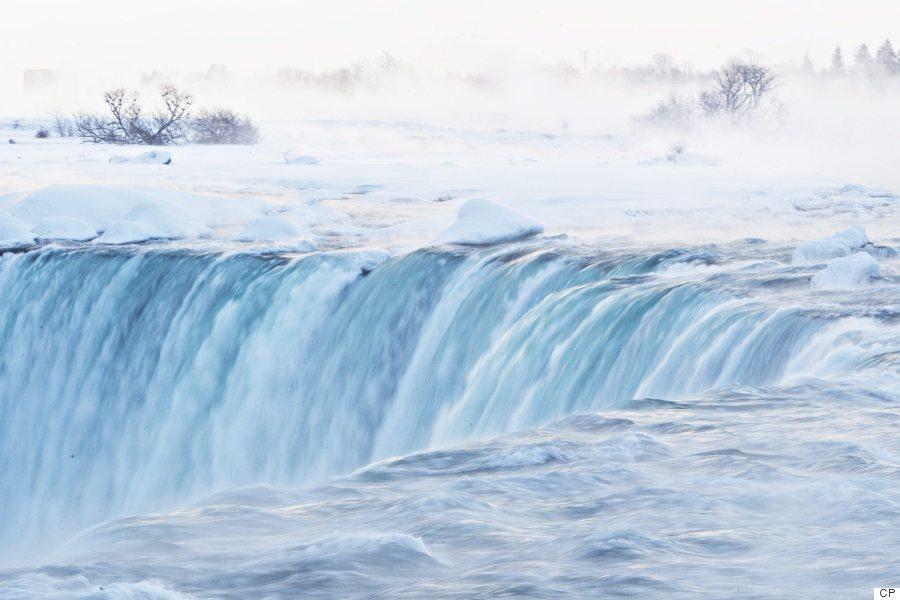 niagara falls ice
