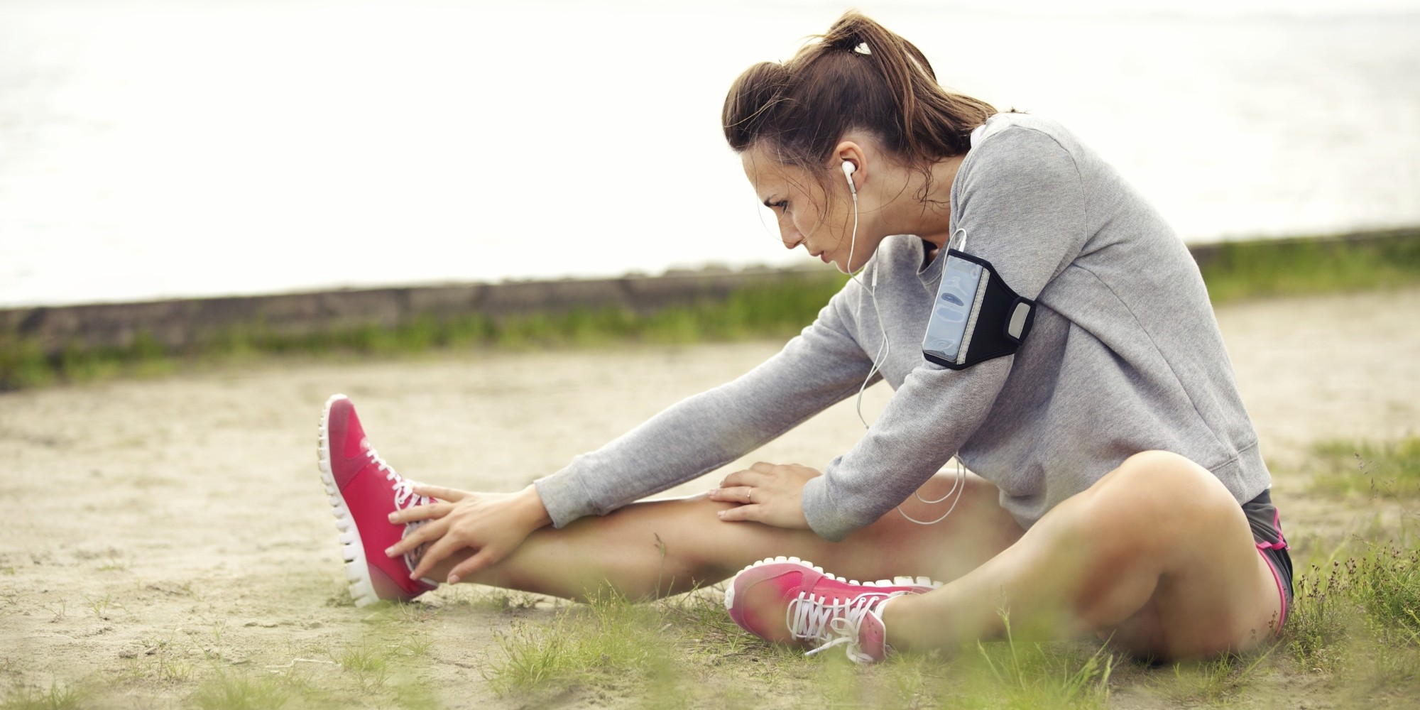 Stretching Tight Running Shoes