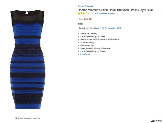 White gold blue black dress reasoning