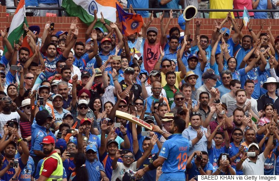 india pakistan crowds world cup