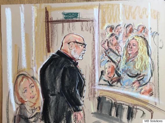 gary glitter in court