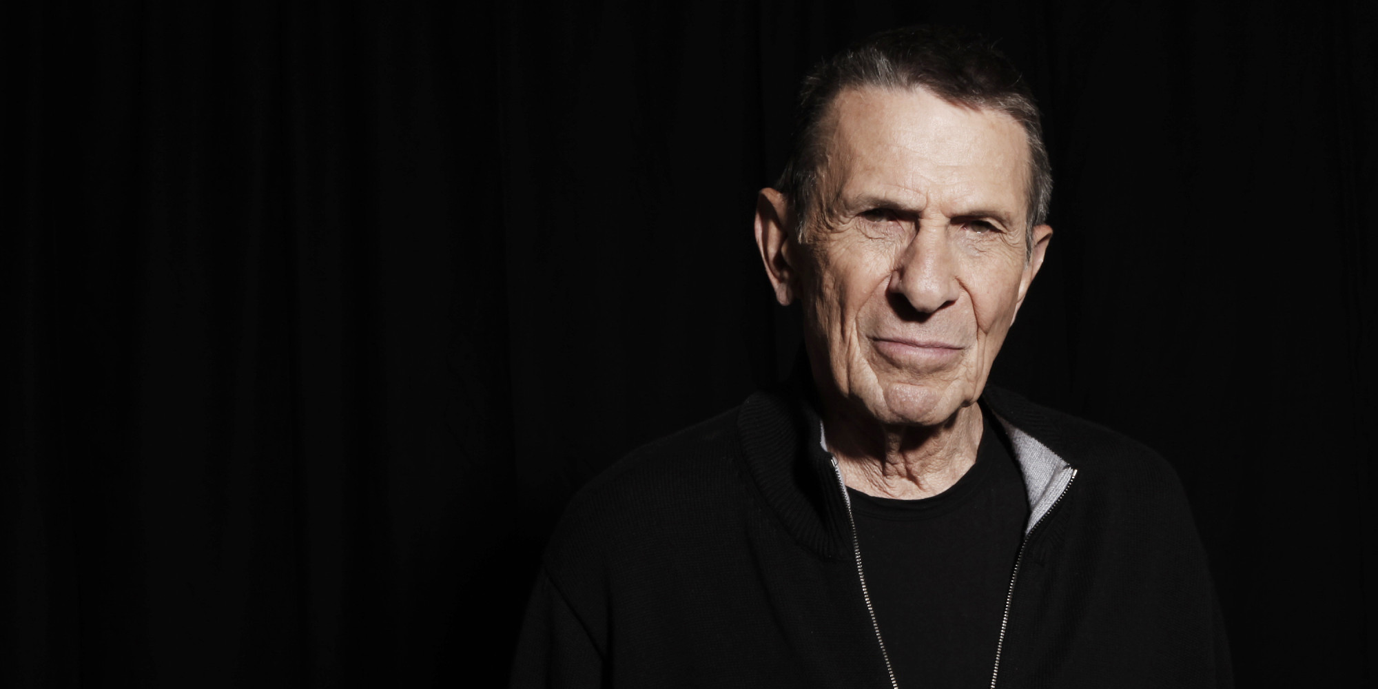 Leonard Nimoy Quotes Classy These Are Leonard Nimoy's Touching Final Words Of Wisdom  Huffpost