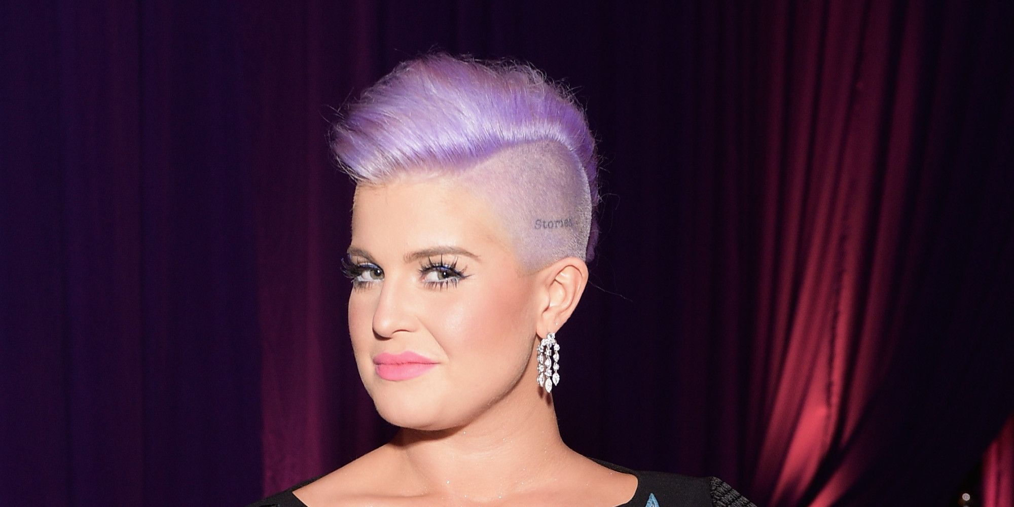 Kelly osbourne earrings on fashion police 33
