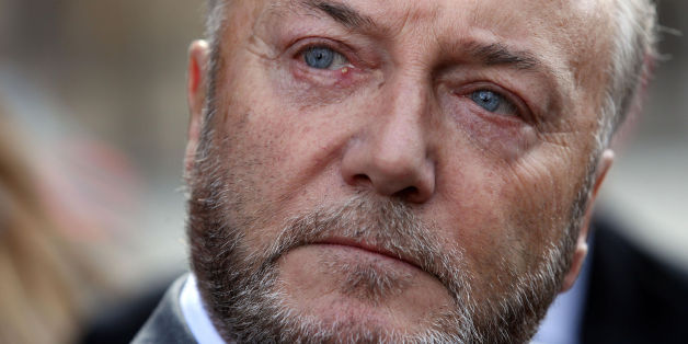 File photo dated 16/04/12 of Respect MP George Galloway, as Neil Masterson, 39 admitted beating the MP but denied his attack was religiously aggravated.