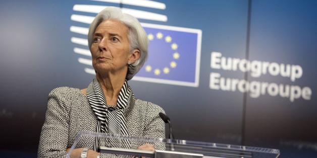 Η επικεφαλής του ΔΝΤ, Κριστίν Λαγκάρντ