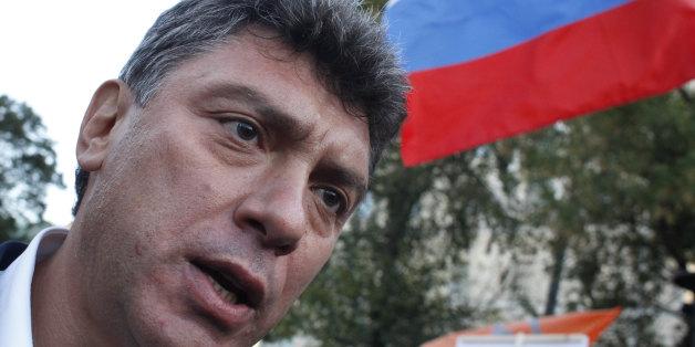 러시아의 야권 지도자인 보리스 넴초프