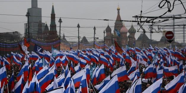 Gipfel des Zynismus: Putin instrumentalisiert offenbar sogar den Trauerzug für Nemzow