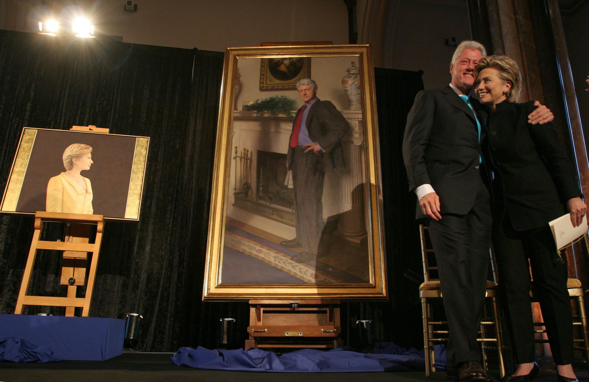 bill clinton portrait