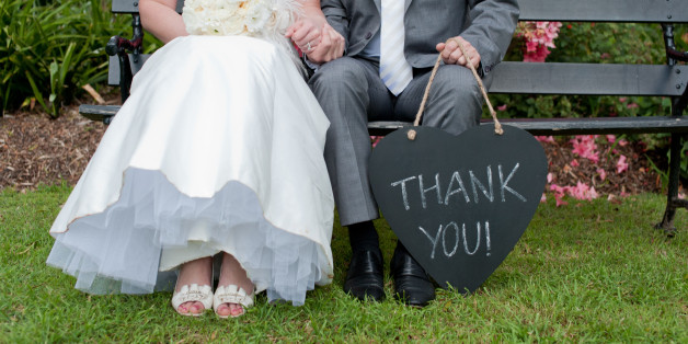 This Is How Long You Actually Have To Send Those Wedding Thank Notes