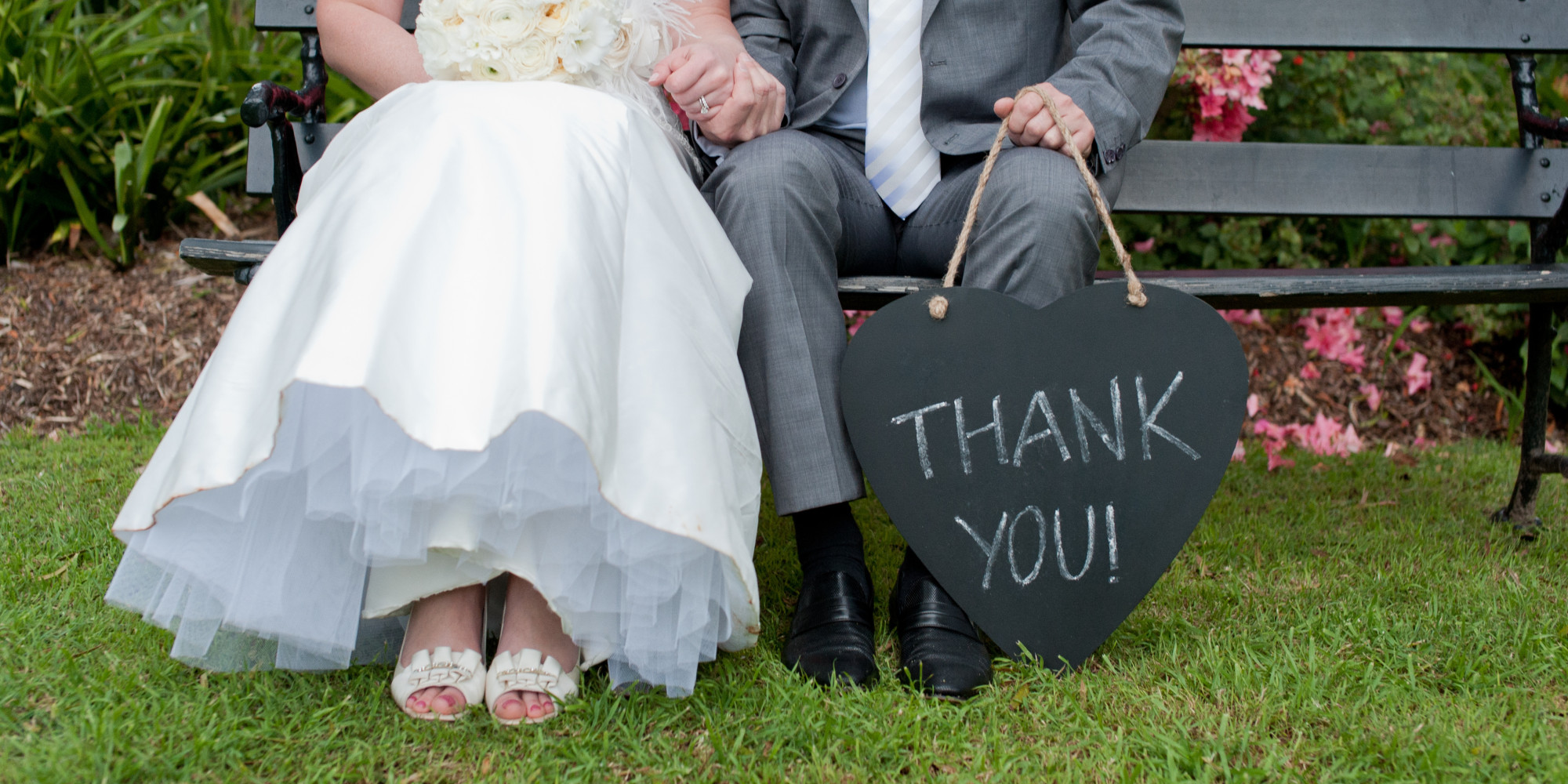 This is how long you actually have to send those wedding thank you this is how long you actually have to send those wedding thank you notes huffpost junglespirit Image collections