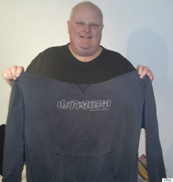 rob ford sweater