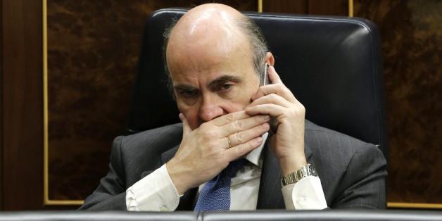 Der spanische Finanzminister Luis de Guindos