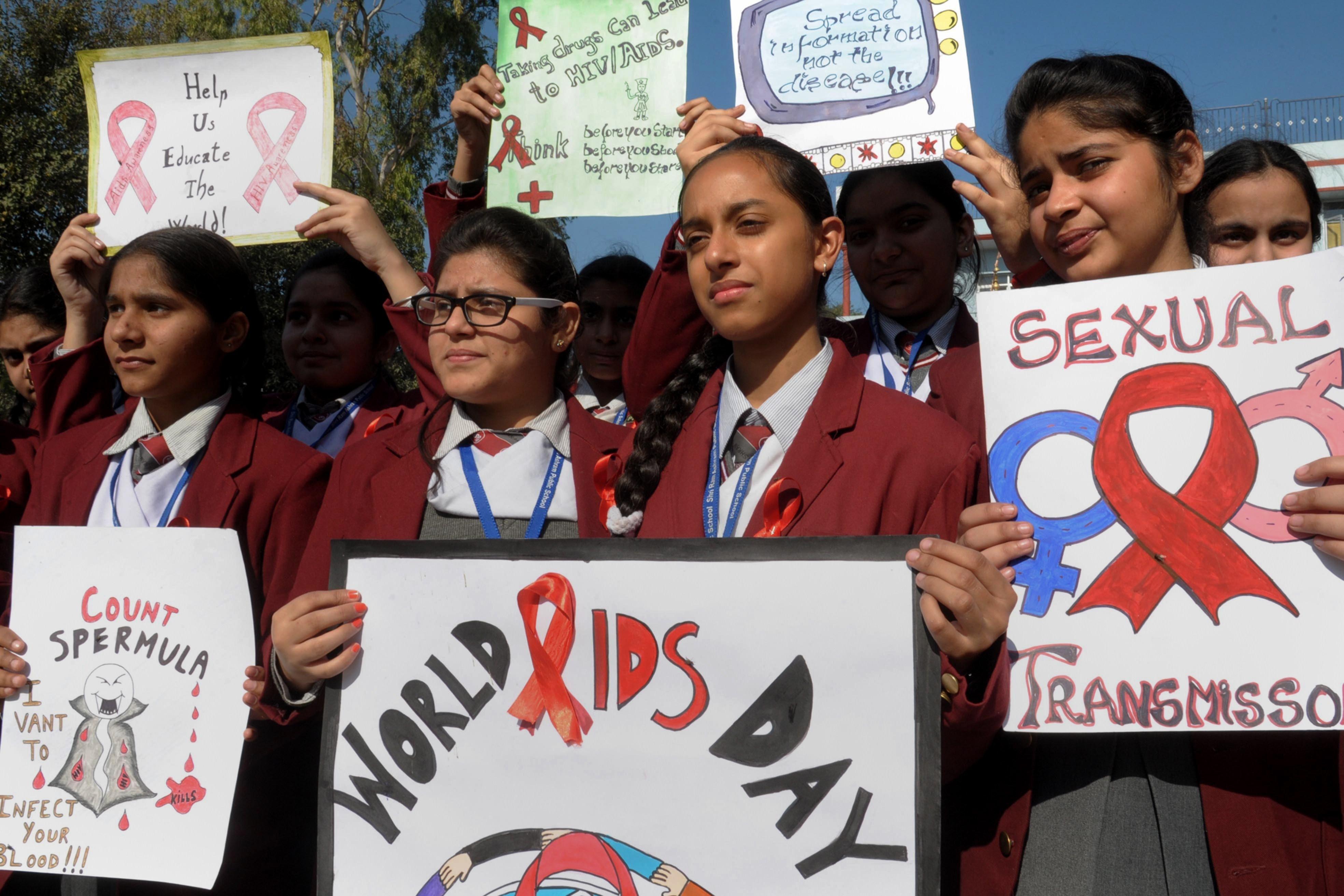 india aids