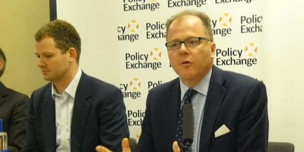 Tory MP George Freeman, now a Tory minister, speaks at Policy Exchange Conservative Conference Fringe Event: Going for Growth. 04.10.11