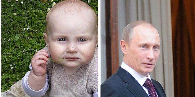 Babies, die wie Promis aussehen