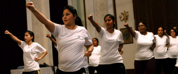 women self defence india