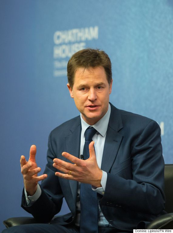 clegg drugs talk