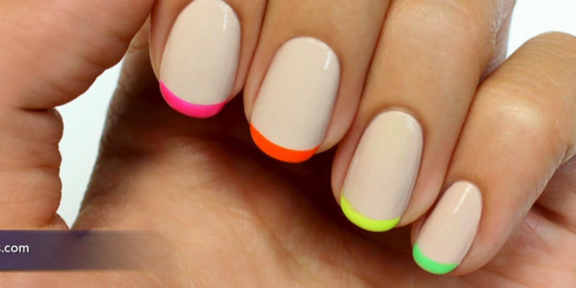 Tres diseños de uñas fáciles y divertidos para lucir esta primavera ...