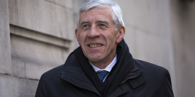 LONDON, ENGLAND - FEBRUARY 23:  Former British Foreign Secretary Jack Straw arrives at Milbank Studios on February 23, 2015 in London, England.  Mr Straw has referred himself to the Parliamentary Commissioner for Standards and has been suspended from the Labour Party at his own request after being secretly filmed apparently offering his services in exchange for payment. (Photo by Rob Stothard/Getty Images)
