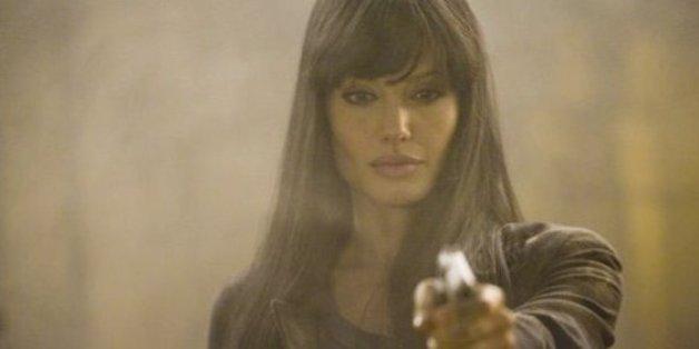Angelina Jolie plays a CIA spy in the movie Salt