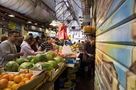 mercato gerusalemme