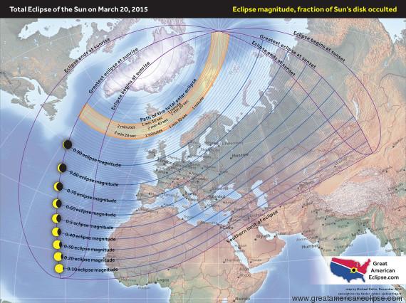 eclipse sol 20 marzo
