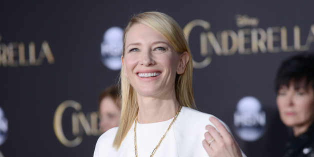 HOLLYWOOD, CA - MARCH 01:  Actress Cate Blanchett attends the premiere of 'Cinderella' at the El Capitan Theatre on March 1, 2015 in Hollywood, California.  (Photo by Jason LaVeris/FilmMagic)