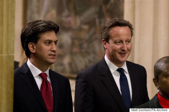 david cameron ed miliband