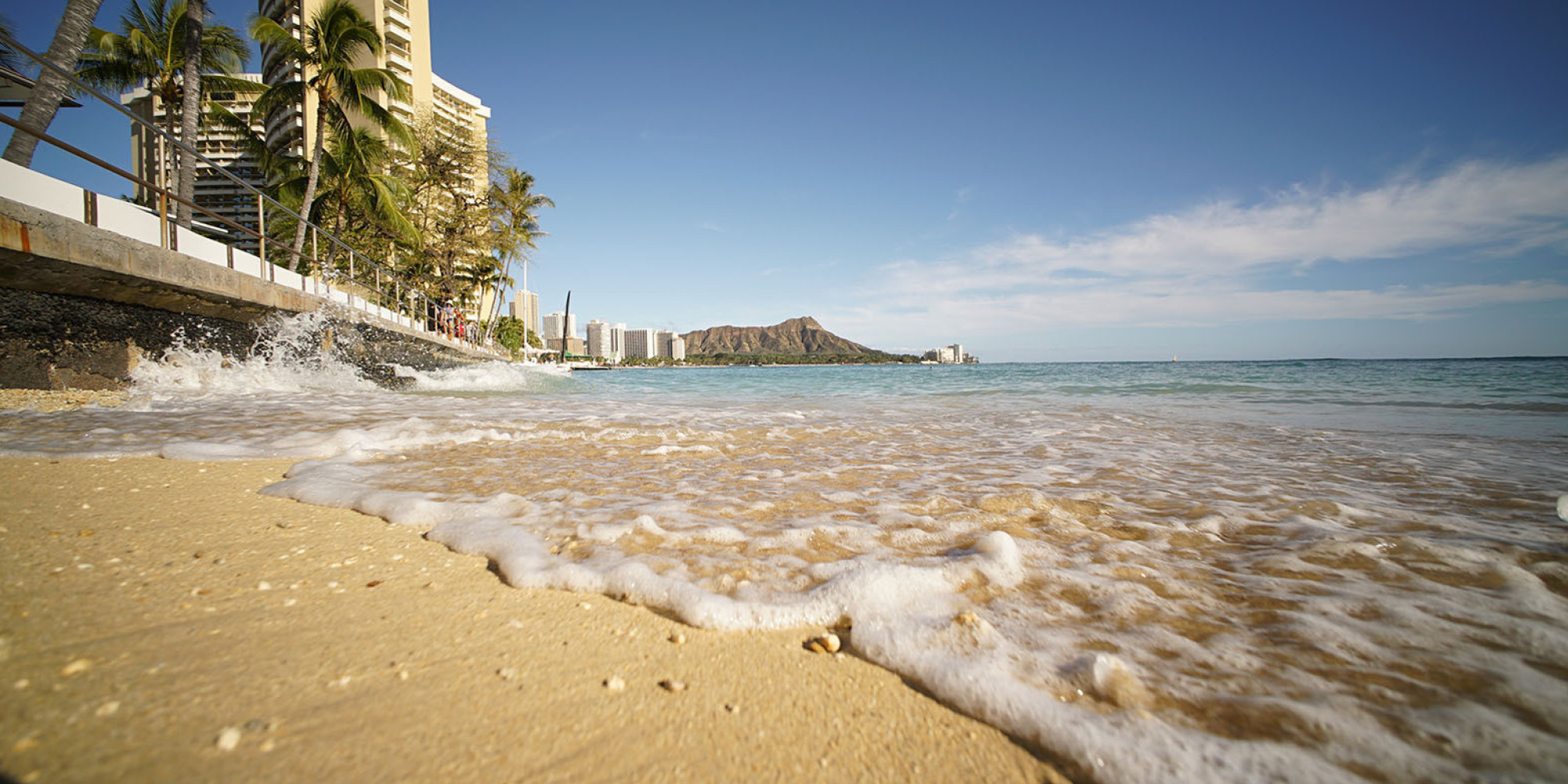 Waikiki Beach Is Totally Man Made And Disappearing Can