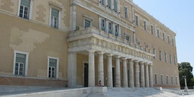 Athens, Greece. --- Το κτήριο της Βουλής των Ελλήνων.