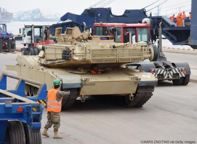 us tanks in baltics