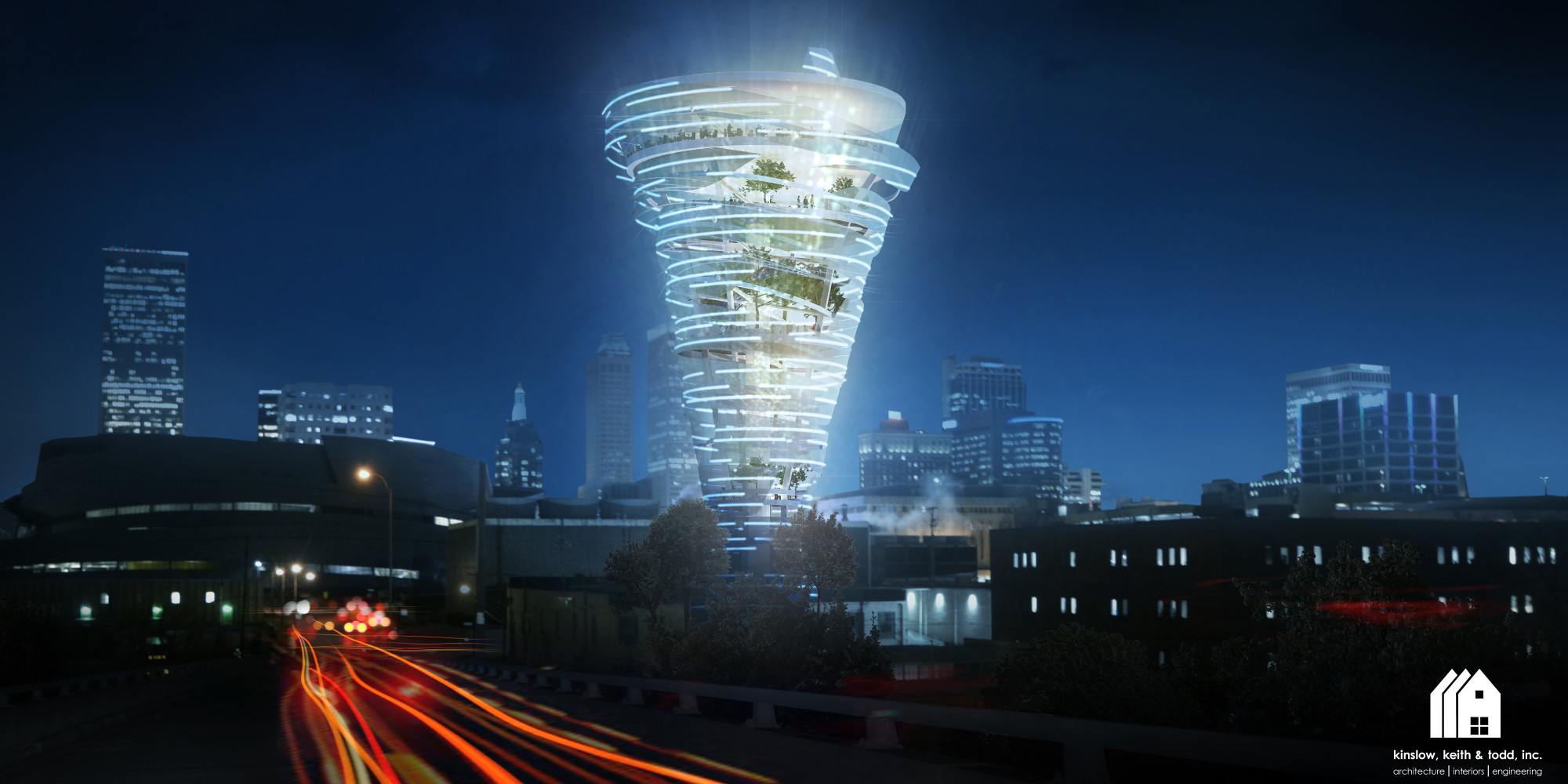 This Twister Shaped Tower May One Day Sit In The Heart Of
