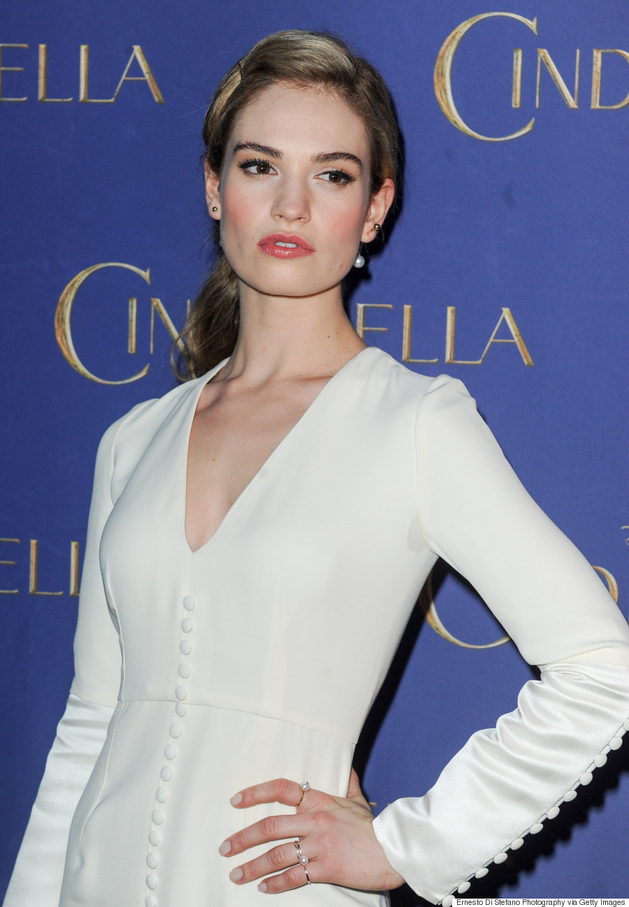Lily James Is A Modern Day Cinderella In Christian Dior ...
