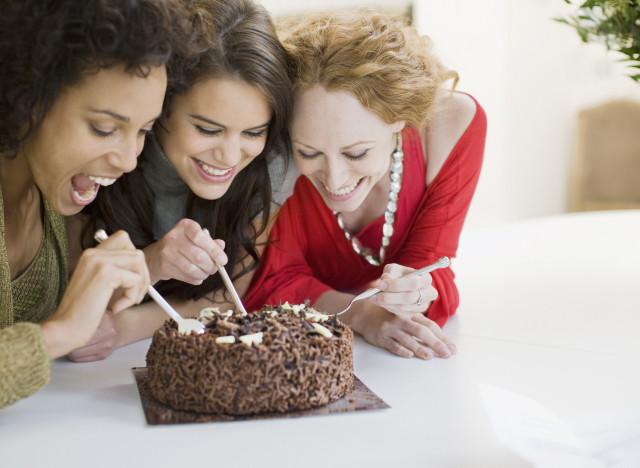 friends chocolate
