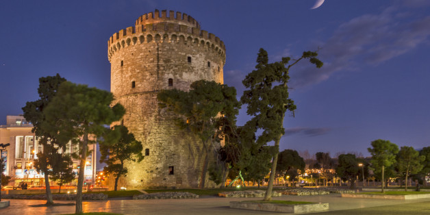 The White Tower of Thessaloniki ,is a monument and museum on the waterfront of the city of Thessaloniki, capital of the region of Macedonia in northern Greece. The present tower replaced an old Byzantine fortification which was mentioned around the 12th century and reconstructed by the Ottomans to fortify the city's harbour; it became a notorious prison and scene of mass executions during the period of Ottoman rule. It was substantially remodeled and its exterior was whitewashed after Greece gained control of the city in 1912. It has been adopted as the symbol of the city.