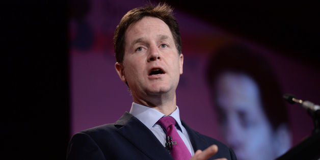 File photo dated 10/02/15 of Deputy Prime Minister Nick Clegg, who has outlined that Cornwall would enjoy greater legislative power as part of a devolution law under the Liberal Democrats.