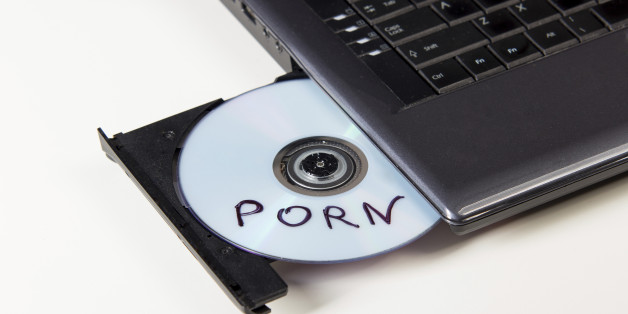 Porn DVD in Player