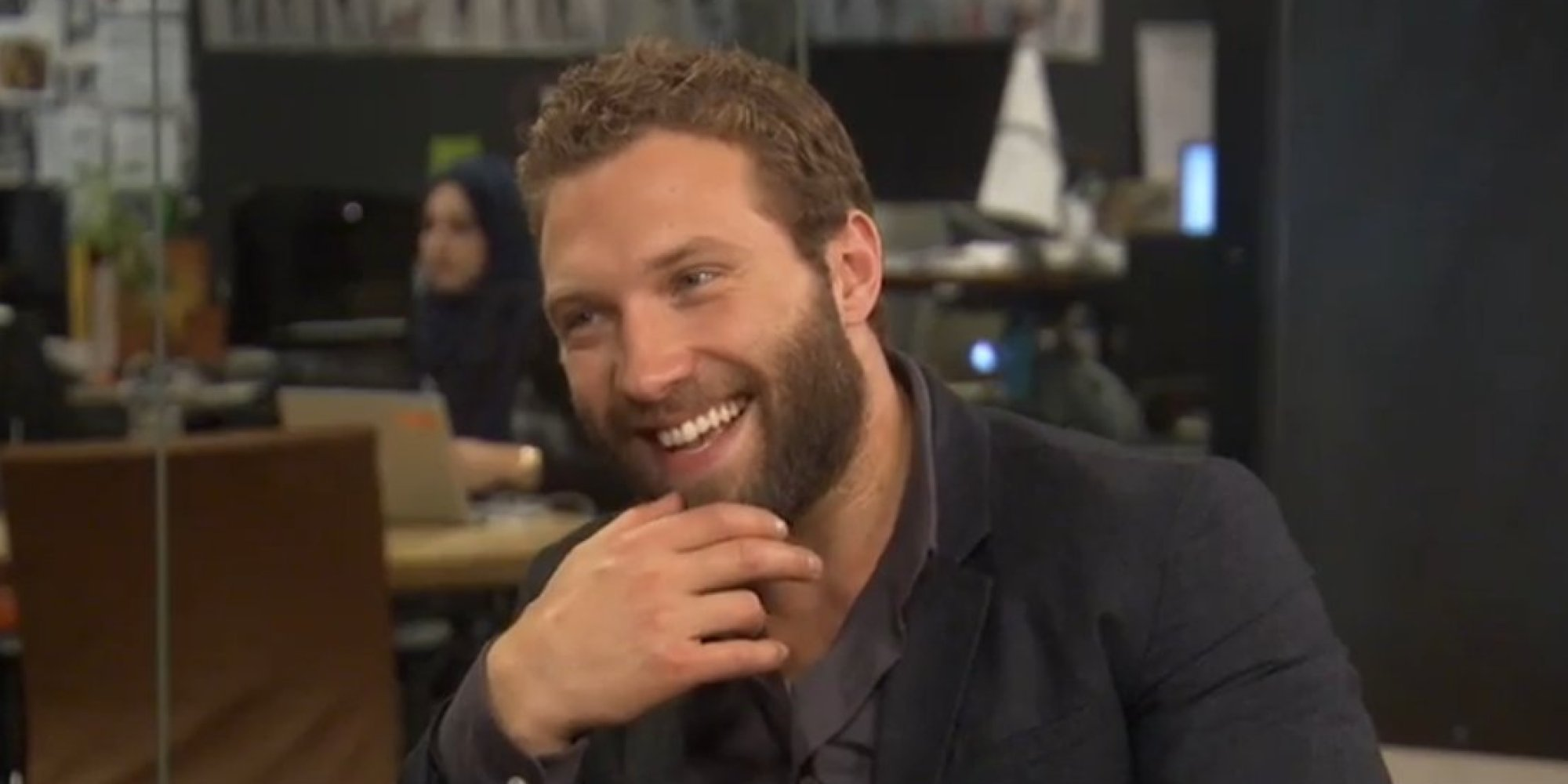 efe9bdf7887 Jai Courtney Isn't Modest About Explaining The 'Modesty Pouch' He Uses For  Nude Scenes | HuffPost