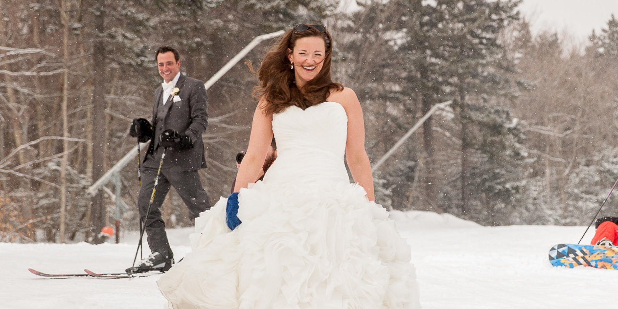 Bromley mountain wedding