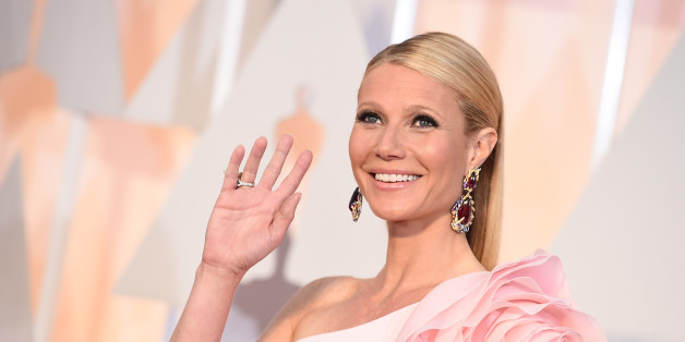 Gwyneth Paltrow arrives at the Oscars on Sunday, Feb. 22, 2015, at the Dolby Theatre in Los Angeles. (Photo by Jordan Strauss/Invision/AP)