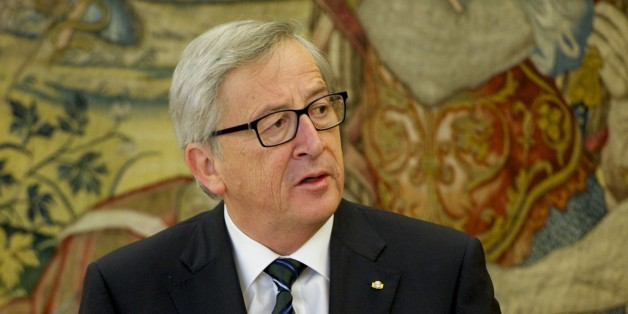 MADRID, SPAIN - MARCH 05:  King Felipe VI of Spain (not pictured) receives the President of the European Commission Jean-Claude Juncker at Zarzuela Palace on March 5, 2015 in Madrid, Spain.  (Photo by Juan Naharro Gimenez/Getty Images)